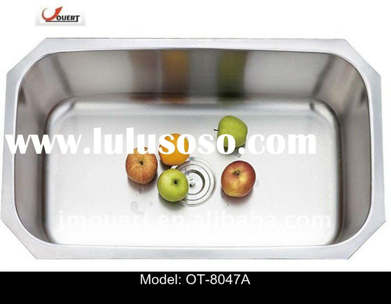 undermount stainless steel kitchen sink single bowl commercial sink