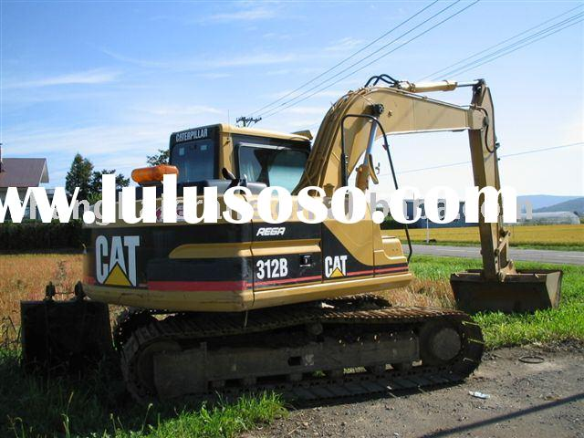 used caterpillar CAT 312 excavator, in quite good condition