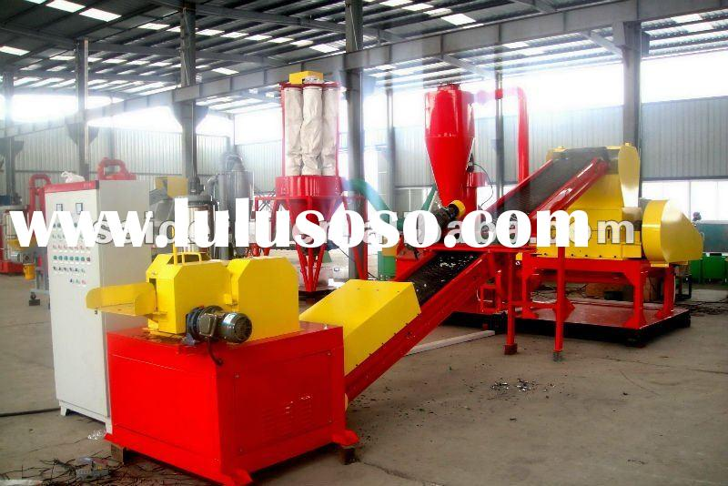 waste wire &cable recycling machine,scrap copper wire crusher,copper and plastic separator,cable