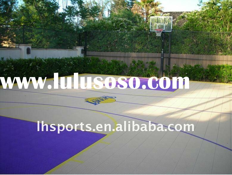 Sports flooring used sports flooring used manufacturers for Sport court flooring cost