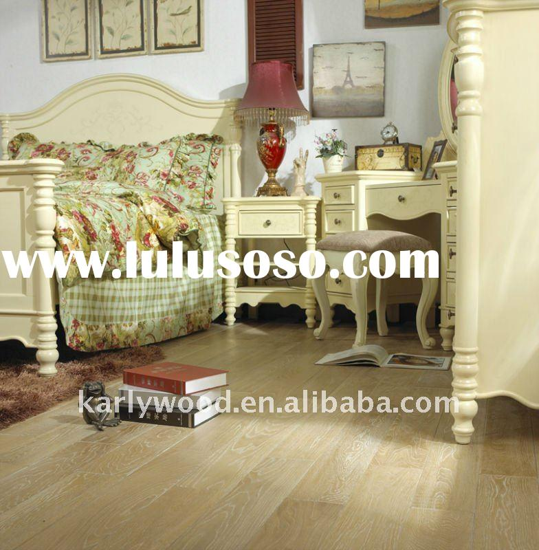 white oak stained engineered wood flooring