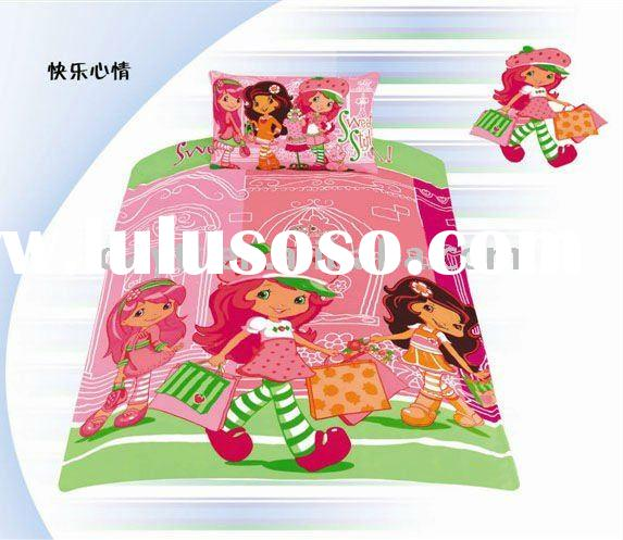 wholesale 3pcs/set cartoon beding set kids bedding set children bedding set lovely style c061002