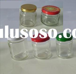 wide mouth glass jars