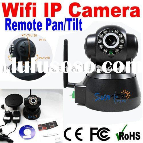 wireless ptz ip video camera surveillance equipment with two way audio night vision