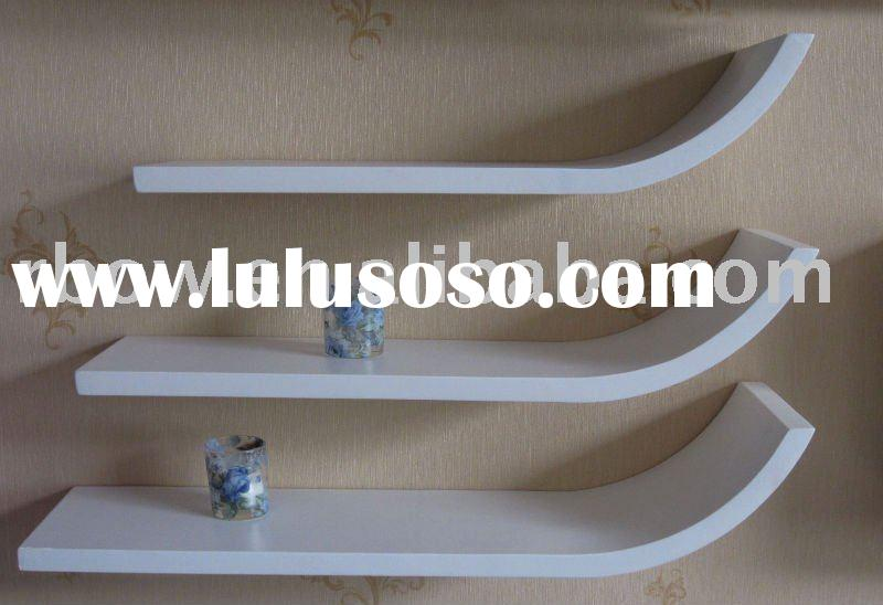 Floating Wood Shelves 800 x 548