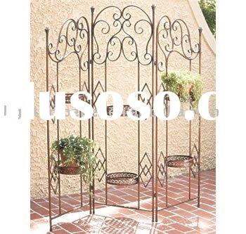 wrought iron room divider candle holder wrought iron room divider