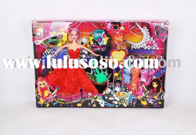 11.5 inch (29.2cm) toy dolls with clothes and accessories