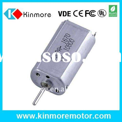 1.5V DC Micro Motors for tooth brush and Electric Shaver