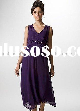 2010 purple chiffon Maternity evening dresses Pregnant dress,prom dresses, mp014