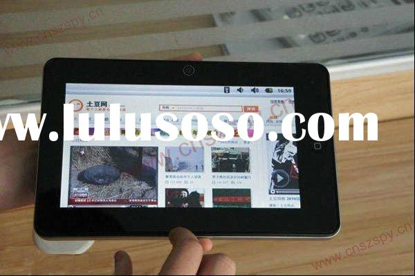 2011 best android tablet pc 7 inch capacitive multi touch screen tablet palmtop