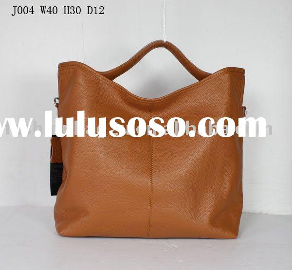 2011 brown leather tote bags handbags cheap OEM