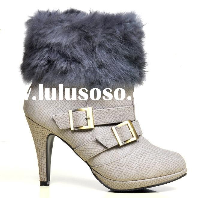 2011 hot new latest fashion cheap stock women's dress women shoes flats high heel wedge heel