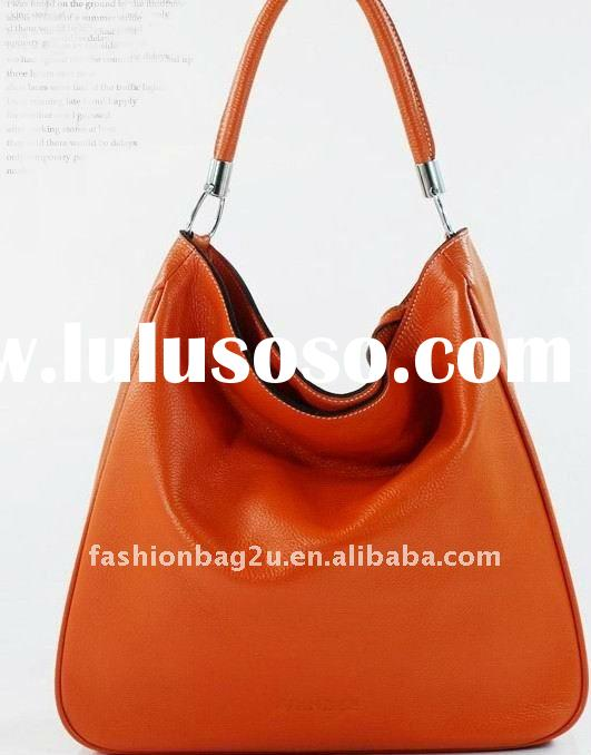 2012 Large Handbags Genuine Leather Bags Women Shoulder Purses