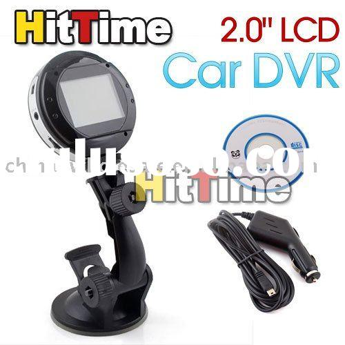 "2.0"" LCD Car Dash Road Video Camera Recorder DVR Mount 09 Free Air Mail ONLY Wholesale"