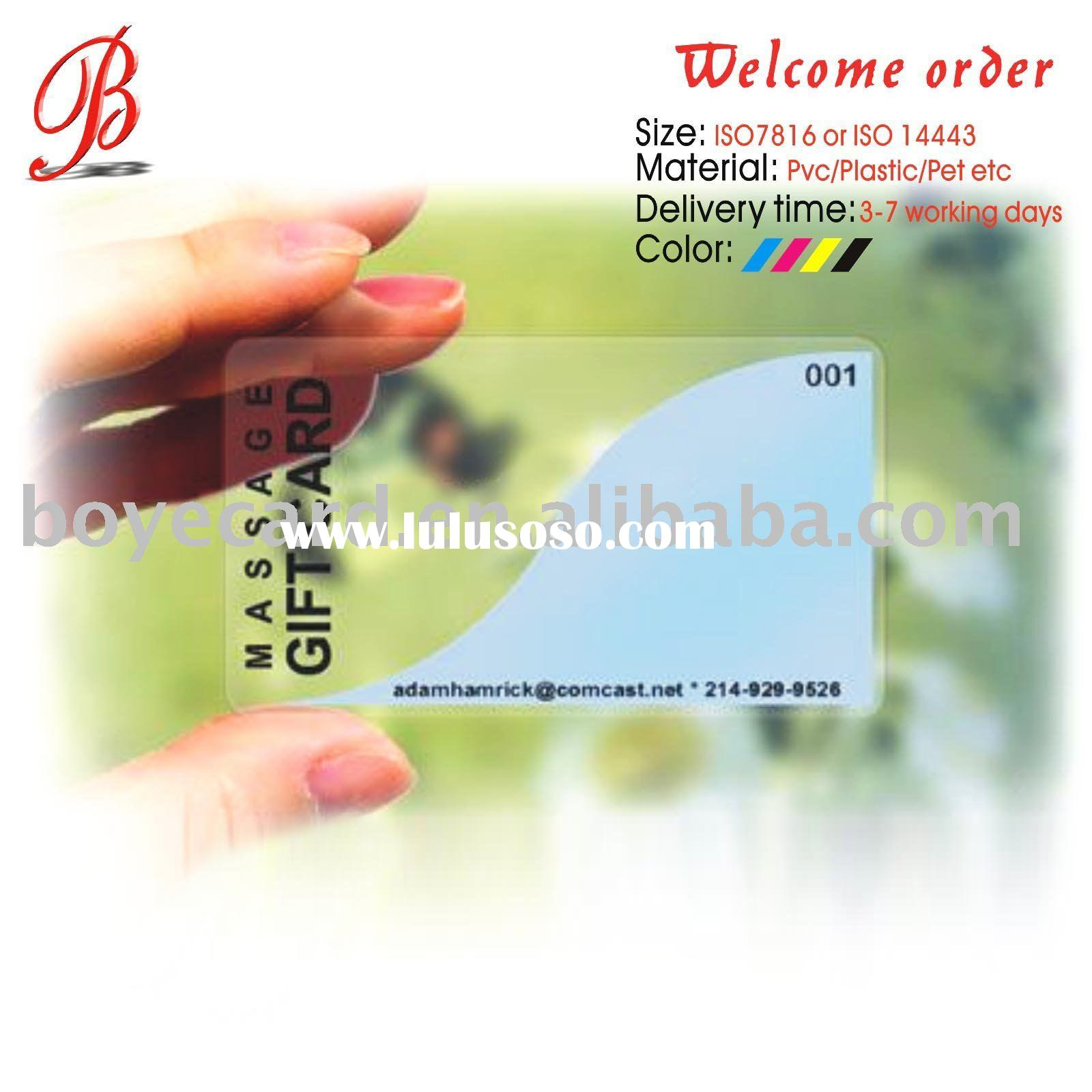 plastic clear business card plastic clear business card