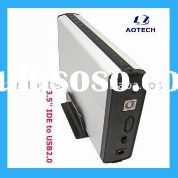 3.5'' USB2.0 External Hard drive Enclosure