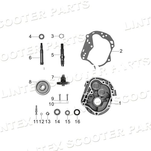 chinese 50cc scooter 139qmb engine parts html