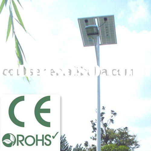 5 years warranty solar street lamp pole design