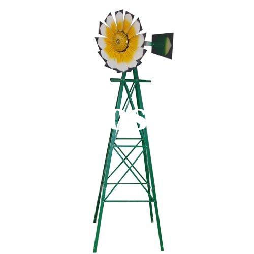 8FT Metal Windmill