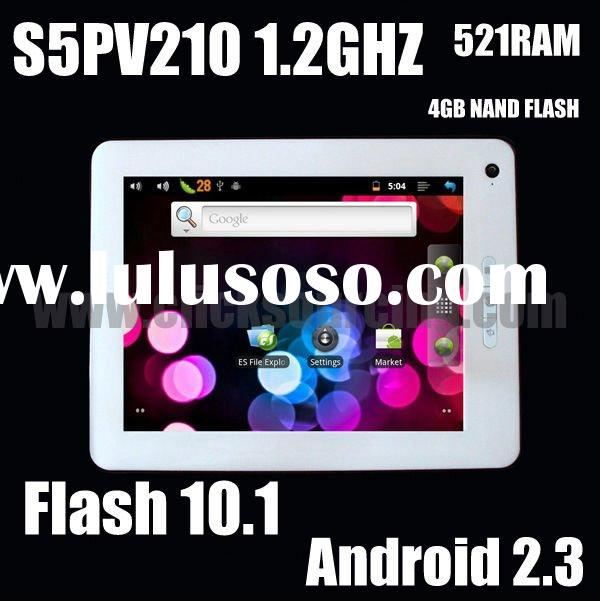 "8"" tablet pc Android 2.3 Flash 10.1 S5PV210 512MB 1.2GHz Camera 3G 1080P HDMI UMPC EPAD MID"