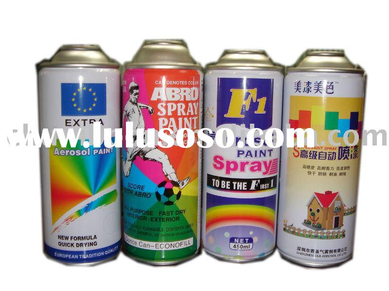 Aerosol spray paint can (diameter 65mm necked-in )