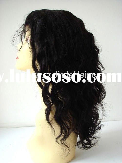 Affordable African American 100% Indiaan Remy Hair Lace Front Wig in discount!