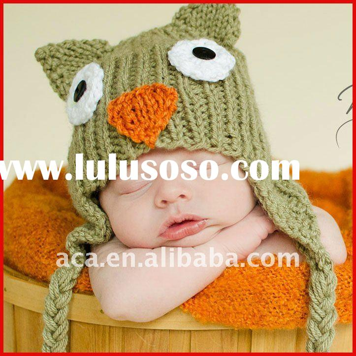 Animal baby Hat knitting pattern