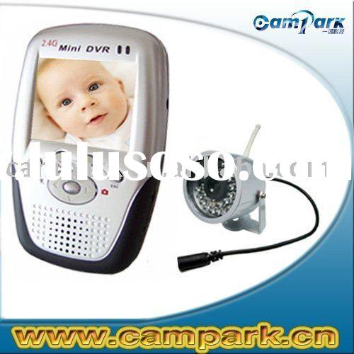 Audio Recorder 2.4GHz Recordable Wireless Baby Monitor