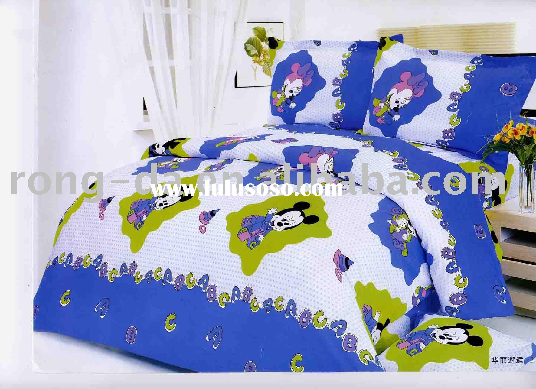 Bedding Set/Printing 4pcs sets/quilt cover/pillow case/Children/bedding/textile