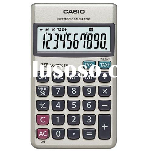 Casio LC 1000 TV Pocket Calculator