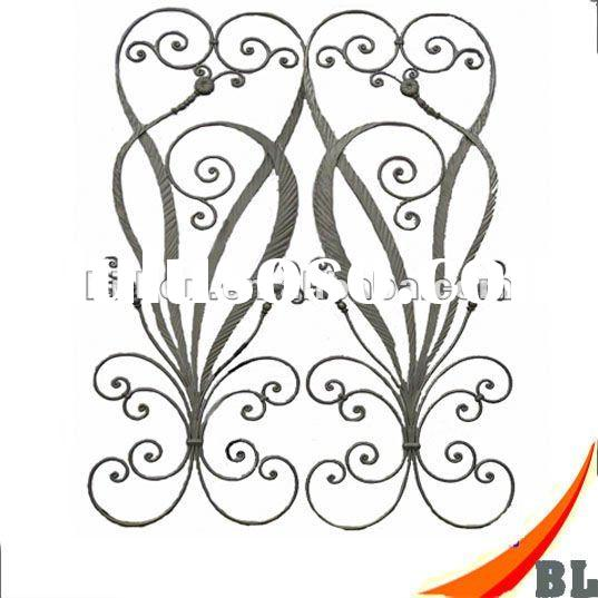 China manufacturer/hand forging/wrought iron stair parts for fence,gate,staircase