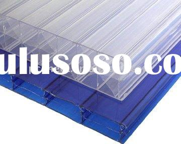 Clear polycarbonate Twin-wall/multi-wall sheet for building-professional manufacturer since 1997