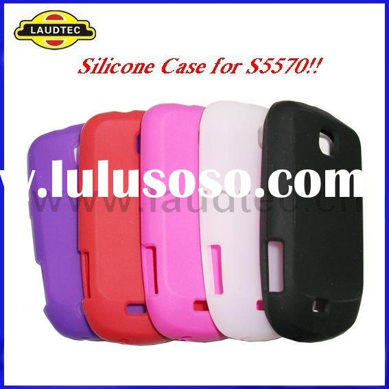Colorful Soft Skin Silicone Case Cover for Samsung Galaxy Next Mini S5570