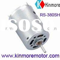 DC motor for cordless drill, power tool, hair dryer (RS-380PH/SH)