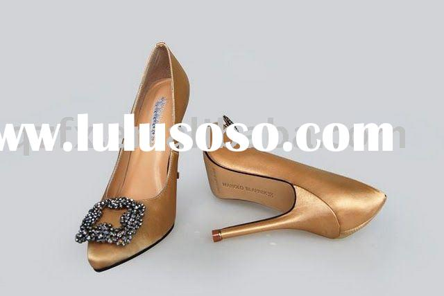 Designer high heel women evening party dress shoes