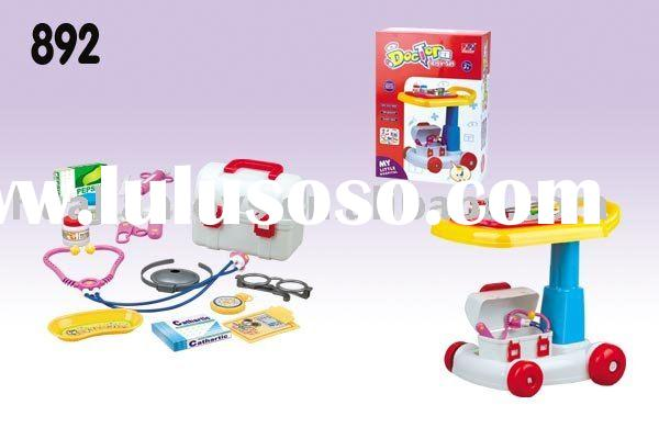Doctor toy set trolley toys doctor play set