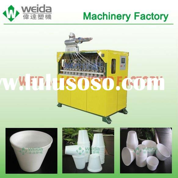EPS foam glass making machine for coffee and tea