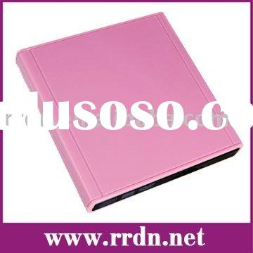 External Optical Drive Combo DVD-RW Drive(pink colour) for for Acer Aspire One and DELL Inspiron Min