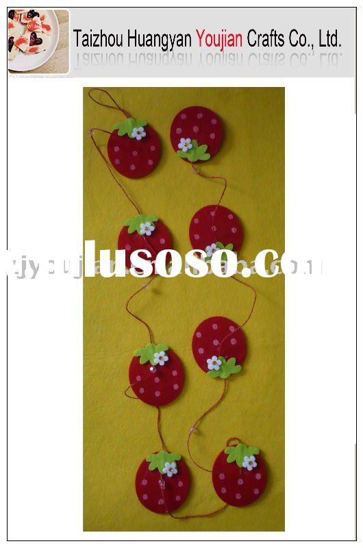 Felt Easter Craft;Felt Easter Garland;Felt Easter Decoration;Easter Hang;