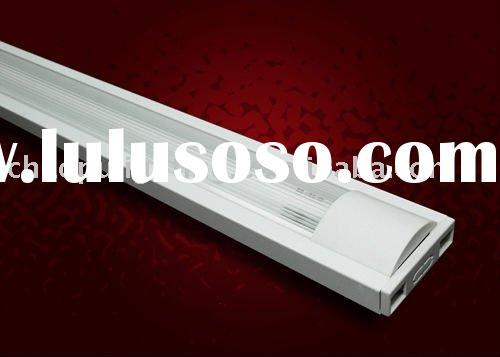 Fluorescent light fixture plastic cover