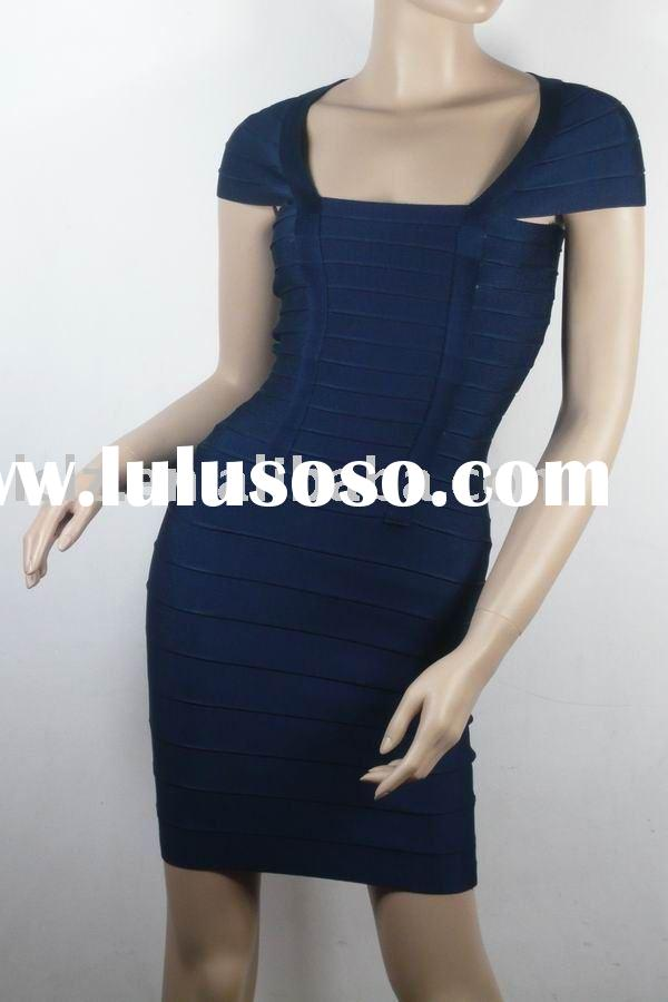 Formal evening wear New and Hot Women Dresses H017 blue