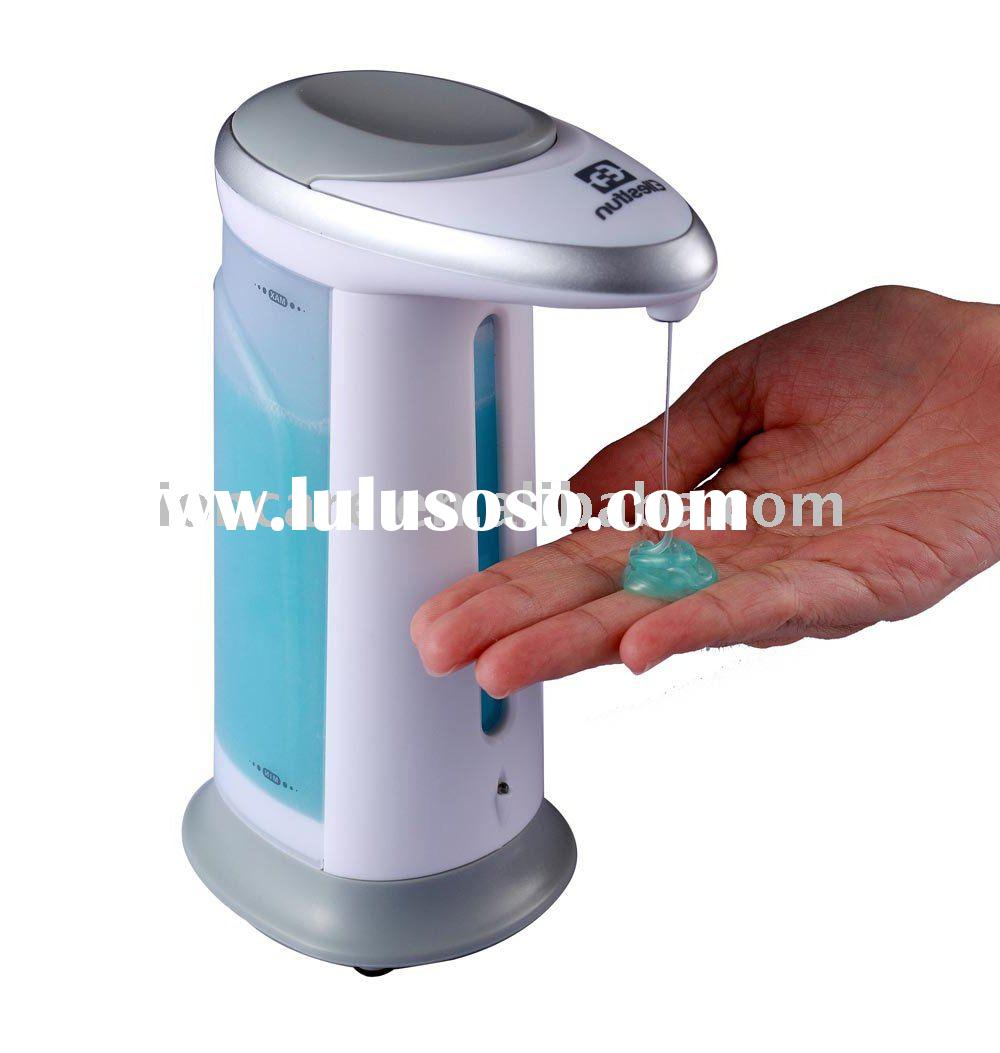 GENIESoap IR Sensor Handsfree Automatic Liquid Soap Dispenser With Two Dispensing Amount Settings &a