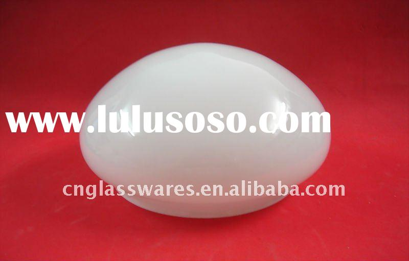 Glass lighting shade ceiling
