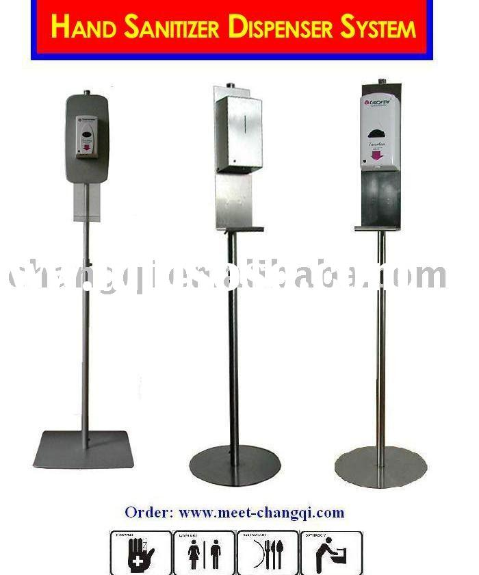 Hand Sanitizer Dispenser, Floor Stand for Soap Dispenser,Touchless Soap Dispenser