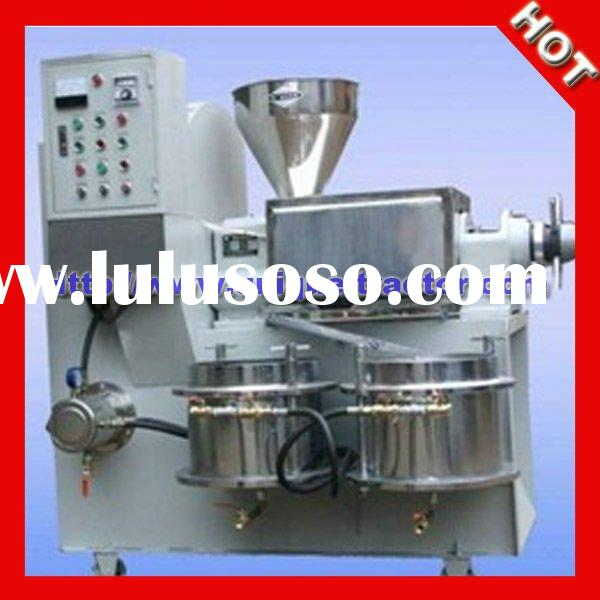 High Yield Screw or Spiral cold Palm Kernel oil press machine/The best seller!