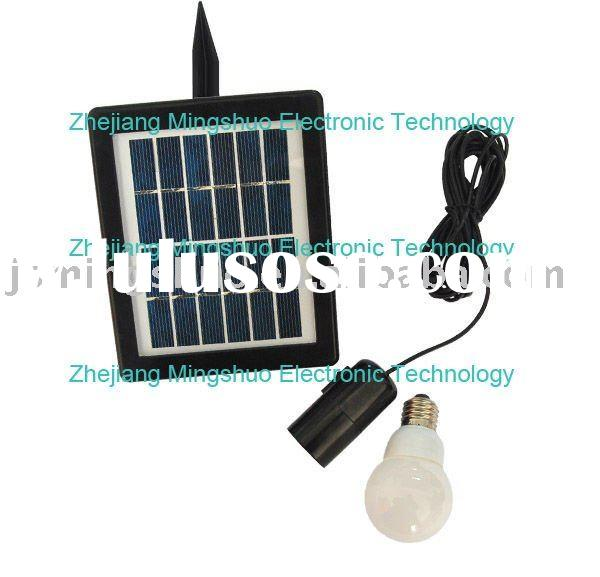 Indoor Solar mini system with LED lamp