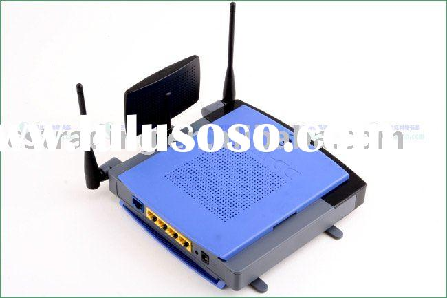 LINKSYS WRT300N Wireless N WiFi Router DD-WRT with MIMO Wireless Router