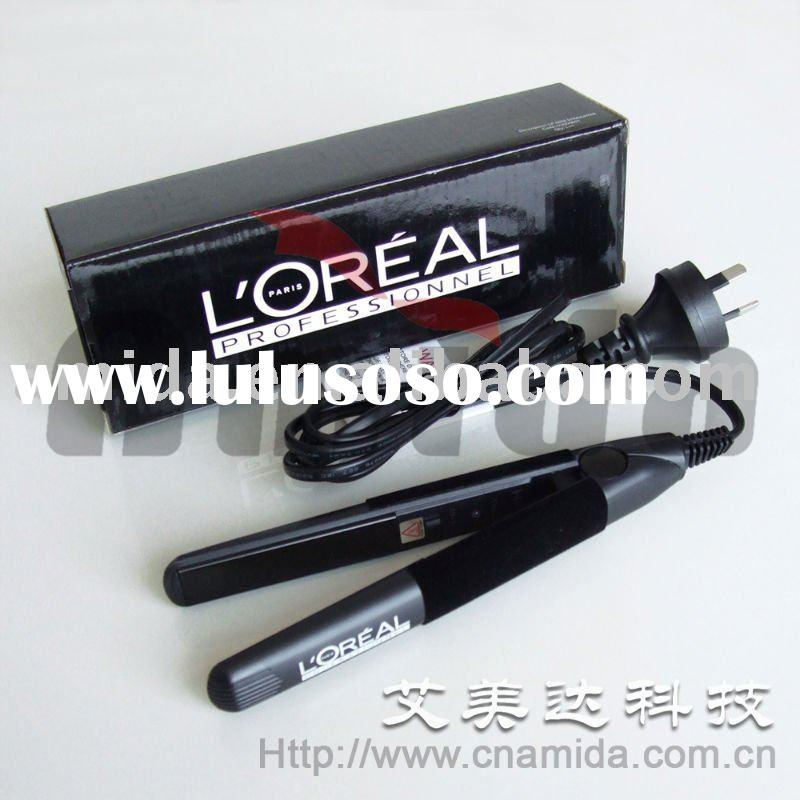 L'OREAL Mini Portable Ceramic Hair Flat Iron Straightener
