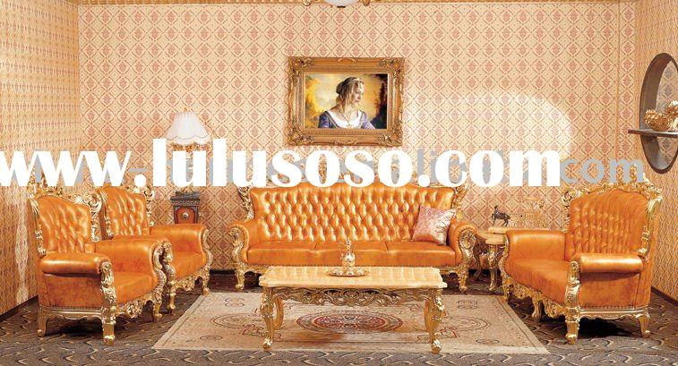 Luxury European Style Sofa/antique home furniture/hotel furniture lobby sofa