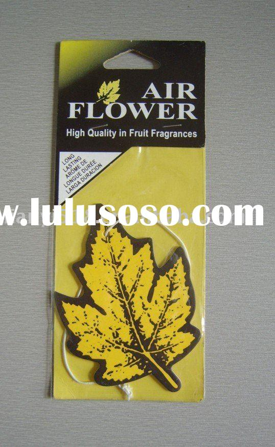 Maple Leaf car perfume , car air freshener , paper car air freshener